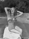 Rita Hayworth in a Swimming Suit Attire Photo by  Movie Star News