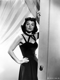 Donna Reed on a Dress with Hand on Waist Photo by  Movie Star News