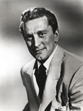 Kirk Douglas wearing Gray Formal Outfit Photo by  Movie Star News