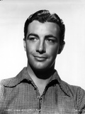 Robert Taylor Posed in Checkered Shirt Photo by  Movie Star News