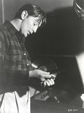 Robert Mitchum in Checkered Long Sleeves Photo by  Movie Star News