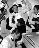Guy Lombardo in White Suit With People Photo by  Movie Star News