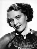 Ruby Keeler on See Through Top Portrait Photo by  Movie Star News
