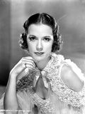 Eleanor Powell on a Ruffled Top Portrait Photo af Movie Star News