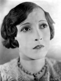 Bessie Love on a Printed Top Looking Up Photo by  Movie Star News