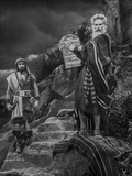 Ten Commandments Moses Posed in Classic Photo by  Movie Star News