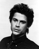 Rob Lowe in Black With White Background Photo by  Movie Star News