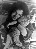 Sigourney Weaver Carrying Cat in Classic Photo by  Movie Star News