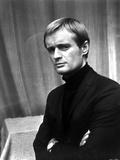 David McCallum Portrait in Black Sweater Photo by  Movie Star News
