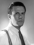 Robert Culp Posed in White Shirt and Tie Photo by  Movie Star News