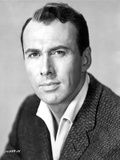Richard Kiley Posed in Black Suit Portrait Photo by  Movie Star News