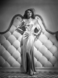 Rita Hayworth Posed in a Beautiful Dress Photo by  Hurrell
