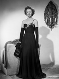 Myrna Loy in Black Gown Classic Portrait Photo by Gaston Longet