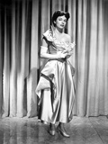 Ruth Roman wearing Gown Black and White Photo by  Movie Star News