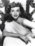 Paulette Goddard Posed in Elegant Dress Photo by  Movie Star News