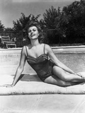 Rita Hayworth Posed in Swimming Attire Photo by  Movie Star News