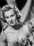 Virginia Mayo Slightly smiling in Dress Photo by  Movie Star News