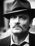 Stacy Keach Posed in Black Suit With Hat Photo by  Movie Star News
