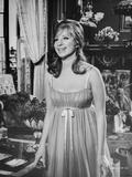 Barbra Streisand smiling In Sexy Dress Photo by  Movie Star News