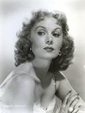 Rhonda Fleming Looking Side Ways Portrait Photo by  Movie Star News