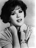 Molly Ringwald Portrait in Black and White Photo by  Movie Star News