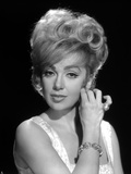 Edie Adams Portrait in Black and White Photo by  Movie Star News