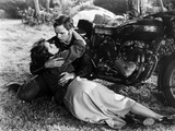 Scene from The Wild One with Marlon Brando Photo by  Movie Star News