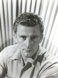 Kirk Douglas wearing Gray Polo Portrait Photo by  Movie Star News