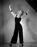 Vera Ellen posed with Arms on Air Portrait Photo by  Movie Star News