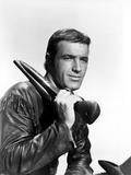 James Caan in Leather Jacket With Shotgun Photo by  Movie Star News