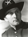 Kirk Douglas as Police Officer Portrait Photo by  Movie Star News