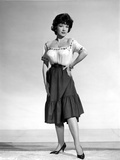 Anne Baxter standing and Hand on Waist Photo by  Movie Star News
