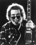 Grateful Dead Portrait in Black and White Photo by  Movie Star News