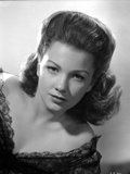 Anne Baxter on a Dress Leaning and posed Photo by  Movie Star News