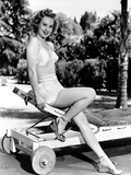 Virginia Mayo Leaning in Classic Portrait Photo by  Movie Star News