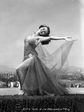 Rita Hayworth Dancing in See-Through Dress Photo by  Hurrell