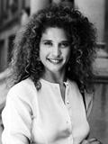 Nancy Travis smiling Portrait in Classic Photo by  Movie Star News