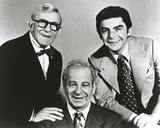 With George Burns Classic Group Portrait Photo by  Movie Star News