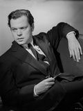 Orson Welles Reclining in Coat and Tie Photo by  Movie Star News