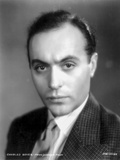 Charles Boyer Posed in Suit and Tie Photo by  Movie Star News