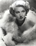 Lana Turner wearing Furry Coat Portrait Photo by  Movie Star News