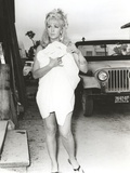 Stella Stevens Walking in Classic Portrait Photo by  Movie Star News