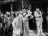 Abbott & Costello Talking to Village Chief Photo by  Movie Star News