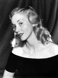 Eva Saint Portrait in Off Should Dress Photo by  Movie Star News