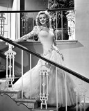 Carole Landis on a Gown smiling and posed Photo by  Movie Star News