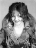 Nancy Carroll Portrait in Feather Coat Photo by  Movie Star News