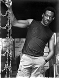 Eddie Murphy standing in Black Tank top Photo by  Movie Star News