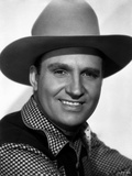 Gene Autry smiling with White Background Photo by  Movie Star News