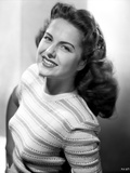 Martha Hyer on Printed Top and smiling Photo by  Movie Star News
