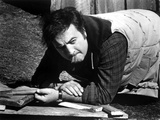 John Belushi Crawling in checkered Polo Photo by  Movie Star News